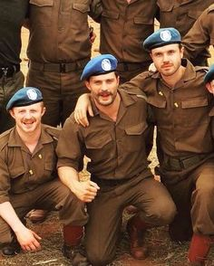 """432 Likes, 1 Comments - #Respeto ❤ (@its_jamie_dornan) on Instagram: """"NEW picture of Jamie and #Jadotville cast on the set from last year  - #jamiedornan"""""""