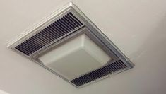 Bathroom exhaust fan light bulb change