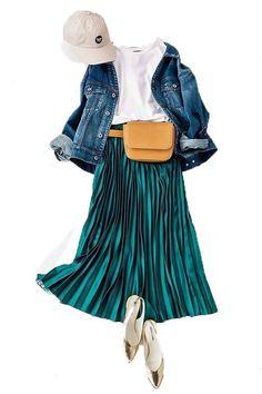 Frock Fashion, Modest Fashion, Girl Fashion, Womens Fashion, Colourful Outfits, Colorful Fashion, Japanese Fashion, Korean Fashion, Chic Outfits
