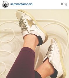 Last week, Serena bought these Golden Goose sneakers on www.gruppofella.com and now she wears them. Beautiful, isn't it?   #goldengoose #goldengoosedeluxebrand #ggdb #sneakers #shoes #outfit #ootd #swag #style #stylish #fashion #fashionblogger #fashionista #glam #chic #look #shopping #shoponline #topbrand #bestshop #gruppofella #fella #cassino #italy