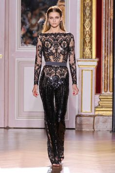 Zuhair Murad Haute Couture Fall/Winter 2012. I die for a great jumpsuit!!