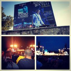 @ Andrea Bocelli's Concert ~ in Italia