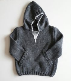 hooded sweater/knitting by NORTHsKNITTINGs on Etsy