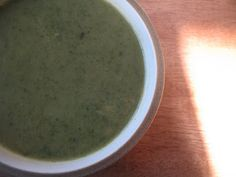 Tangy Herbed Lettuce Soup