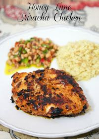 Plain Chicken: Honey Lime Sriracha Chicken