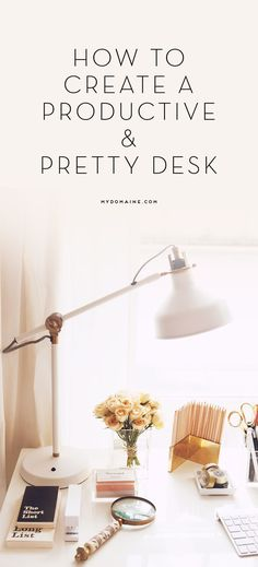 Home Office Desk Design Organizations 21 New Ideas Home Office Design, Home Office Decor, Diy Home Decor, Office Ideas, Work Desk Decor, Decorate Desk At Work, Office Nook, Office Style, Wand Organizer