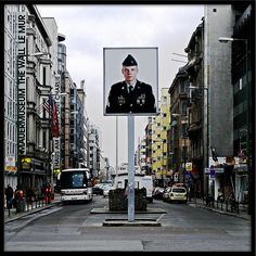 Checkpoint Charlie and Checkpoint Charlie Museum, Berlin
