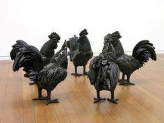 Les sculptures danimaux pleines dhumour de Michael Parekowhai  2Tout2Rien