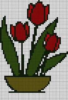 Alpha friendship bracelet pattern added by borntofly. Kawaii Cross Stitch, Tiny Cross Stitch, Cross Stitch Flowers, Cross Stitch Designs, Cross Stitch Patterns, Cross Stitching, Cross Stitch Embroidery, Pixel Art, Beading Patterns