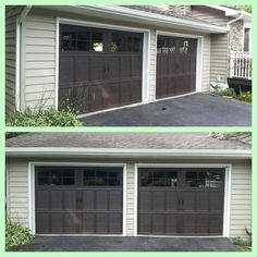 Attrayant Wayne Dalton 9700 Mahogany Overhead Doors. Looks To Me They Picked The  Perfect Color To
