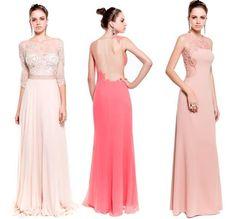 Vestidos de festa Cosh verão 2014: renda, transparência, bordados... - Madrinhas de casamento