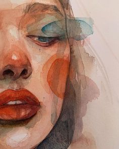 Watercolor painting by Humid Peach | Watercolor | ARTWOONZ