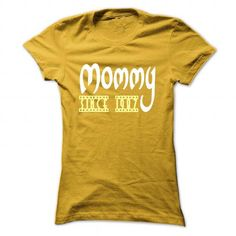 I Love Limited Edition Mommy since 1987 T shirts