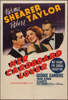 Movie Posters:Comedy, Her Cardboard Lover (MGM, Mid-1940s). Australian O... Image #1