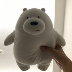 Beanie Babies, Cute Stuffed Animals, Dinosaur Stuffed Animal, Ying Y Yang, We Bear, Hamster, We Bare Bears, Cute Plush, Bear Doll