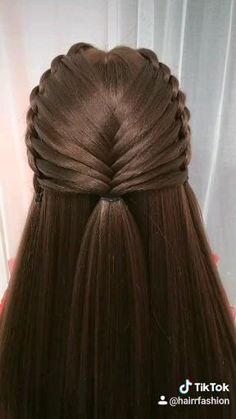 Open Hairstyles, Pretty Hairstyles, Braided Hairstyles, Twist Ponytail, Hairdos, Hair Looks, Hair Lengths, Hair Inspiration, Hair Makeup