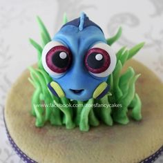 Baby dory cake topper - Cake by Zoe's Fancy Cakes