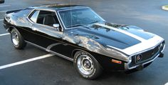 1974 AMERICAN MOTORS Javelin AMX: The Javelin was redesigned in 1971, growing slightly bigger and donning exaggerated wheel arches and a longer hood. The AMX model and two-seat body style was retired and the name joined the Javelin lineup as a trim level. Engines for 1971 ranged from a 210-hp, 304-c.i. V-8, through the 245-hp and 285-hp, 360-c.i. V-8, and the thumping 330-hp, 401-c.i. V-8 in the AMX. The SST continued alongside the top-line Javelin AMX.