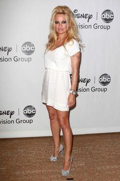 Pamela Anderson, Hayden Panettiere attend Disney ABC TV Group Party celebrities