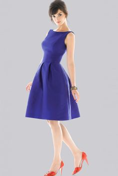 classy bridesmaids dress - cute style, would need diff color