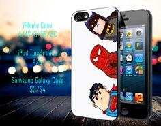 Crooked Neck Batman and Friends Samsung Galaxy by GeniusInnovation, $13.79