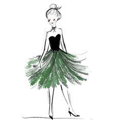 Mademoiselle Sapin  Kera Till illustration