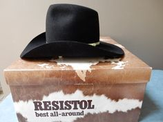 Your place to buy and sell all things handmade Western Bar, Beaver Hat, Felt Cowboy Hats, Black Felt, Hat Sizes, Handmade, Vintage, Etsy, Hand Made