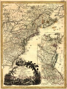 United States Colony Map # Pinterest++ for iPad #