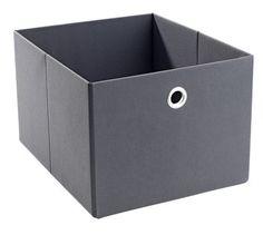 Box GERVIG B27xL32xH20cm grå | JYSK