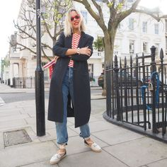 It's funny, there are probably a million photos we take for this blog that never see the light of day. These are a few of those. Affordable Clothes, Affordable Fashion, The Frugality, Jeans And Flats, Cropped Trousers, Occasion Wear, Dress Codes, Capsule Wardrobe, Spring Summer Fashion
