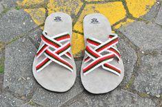 """WAYUU SANDALS US13/EUR46/UK12.5. Typical Wayuu Indian footwear called """"Wayrenas."""" www.colombiart.co"""