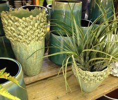 Vases at Chalet Garden Center. 3132 Lake Ave Wilmette, IL. $39.99 and $99.99