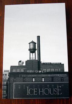 Historic Ice House - Downtown Denver, LoDo - Colorado - 18 x 12 Fine Art Photography Canvas Gallery Wrap Print
