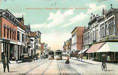 Vintage Rockford, Illinois.