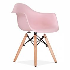 Cult Living DAW Style Pastel Pink Kids Chair | Cult Furniture UK