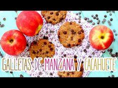 Receta:Galletas de manzana y mantequilla de cacahuete 🍪🍎🍪🍎 - YouTube