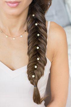 fishtail braid, reverse fishtail braid, side braid, luxy hair, mimi ikonn, long hair, cute hairstyle