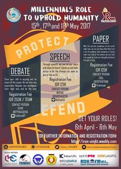 #IRON2017 #EnglishCompetition #UIN #Jakarta IRON International Relation Championship 2017 Speech, Debate, Paper Competition in English  Event: 15, 17, 18 Mei 2017  http://infosayembara.com/info-lomba.php?judul=iron-international-relation-championship-2017-speech-debate-paper-competition-in-english