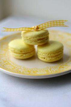 Lemon French Macarons
