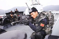 chinese soldier on training - Rgrips.com