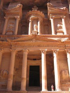 The Treasury : Petra, Jordan @}-,-;--