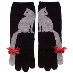 Winter Cats Gloves - Oh, how much I want these. If only someone would knit me a pair (they're sold out). http://amzn.to/2k2HTMQ