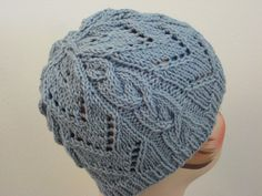 Free Knitting Pattern - Hats: Chevrons & Cables Hat