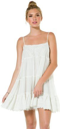 BILLABONG SNEAKY PEAKS GAUZE DRESS | Swell.com
