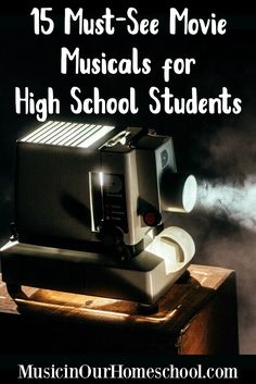 15 Must-See Movie Musicals for High School Students 15 Music in Our Homeschool. Introduce your kids to musical theater through movies. Includes 15 of the best musicals ever made. High School Curriculum, Homeschool Curriculum, Online Homeschooling, Preschool Music, Kids Music, Importance Of Time Management, See Movie, High School Students, Music Education