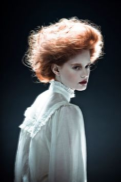 Victorian hair inspiration and dreamy haze. Zhang Jingna photography
