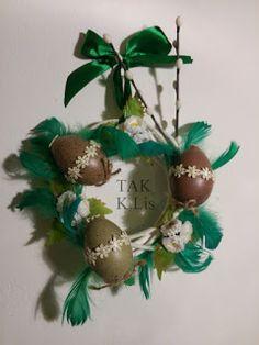 Twórczo Aktywnie Kreatywnie K.Lis: Stroik Wielkanocny