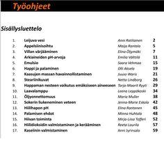 Olen laittanut google drive-kansiooni Helsingin yliopistossa kemian didaktiikan kurssilla ryhmämme tekemät työohjeet. Linkin takana on 17 eri ilmiöitä hienosti havainnollistavaa ja seikkaperäisesti…