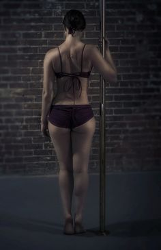 Just me and the pole (Modern Ape Photo)