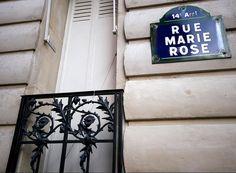 La rue Marie-Rose  (Paris 14ème)